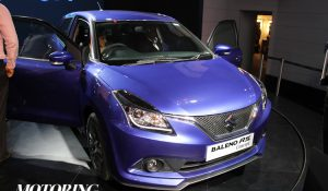Maruti Baleno RS Concept India Launch Date Announced