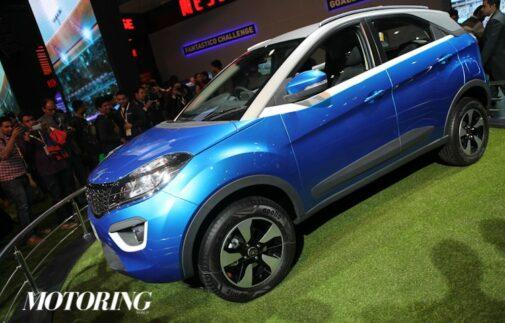 Tata Nexon Production version Auto Expo