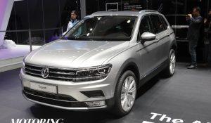 VW Tiguan India launch announced