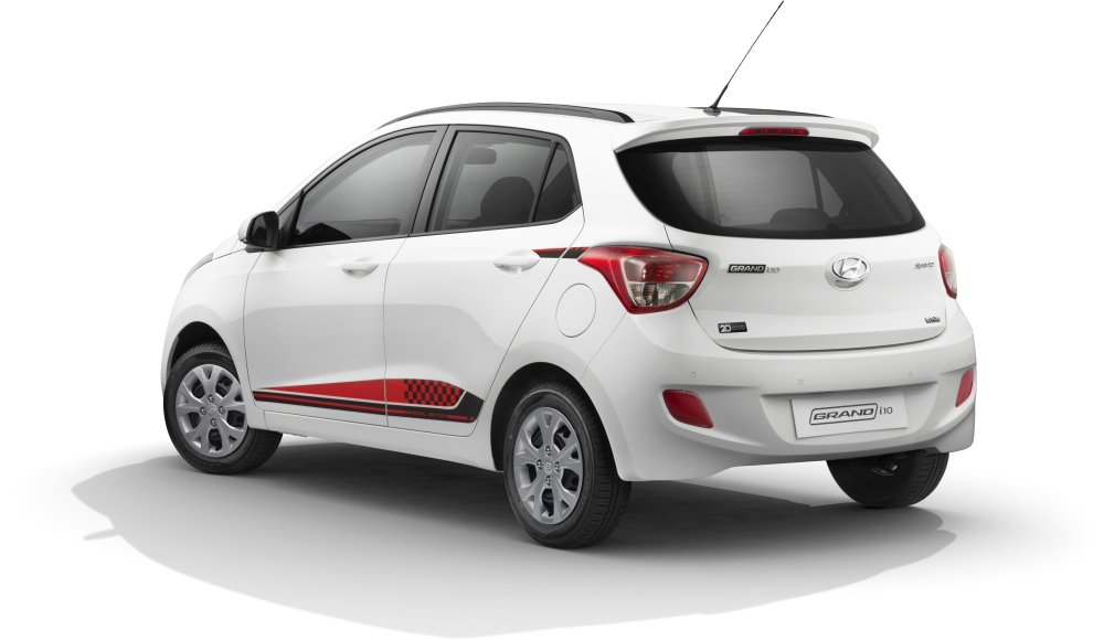 Hyundai grand i10 20th anniversary special edition launched