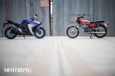 Fresh Heir: Yamaha RD350 and YZF-R3