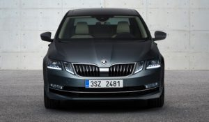 Skoda Octavia Facelift front unveiled