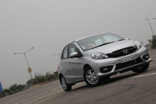 Honda Brio facelift front bumper photos