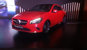 2017 Mercedes Benz CLA India launch