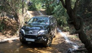 Toyota Fortuner India off-roading price