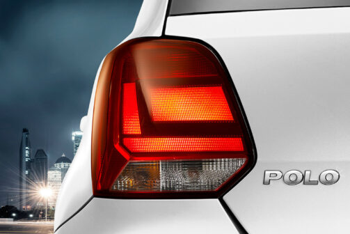 Volkswagen Polo taillamp India