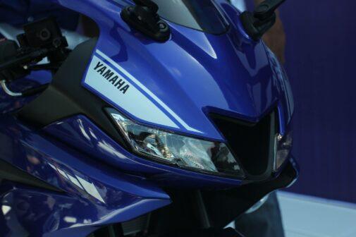 2017 Yamaha R15 V3.0 unveiled fairing