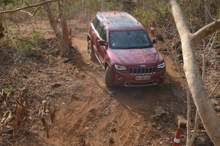 Jeep Grand Cherokee Off-road India