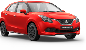 Maruti Baleno RS front launch specs