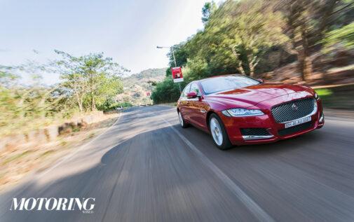 Jaguar XF Review Front