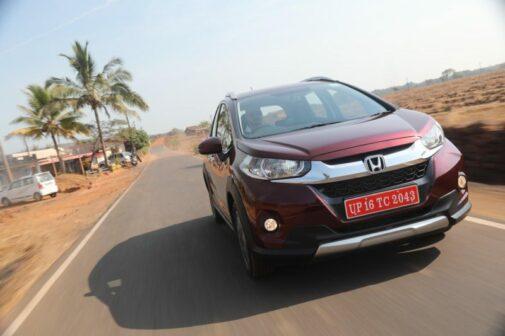 Honda WR-V India launch date