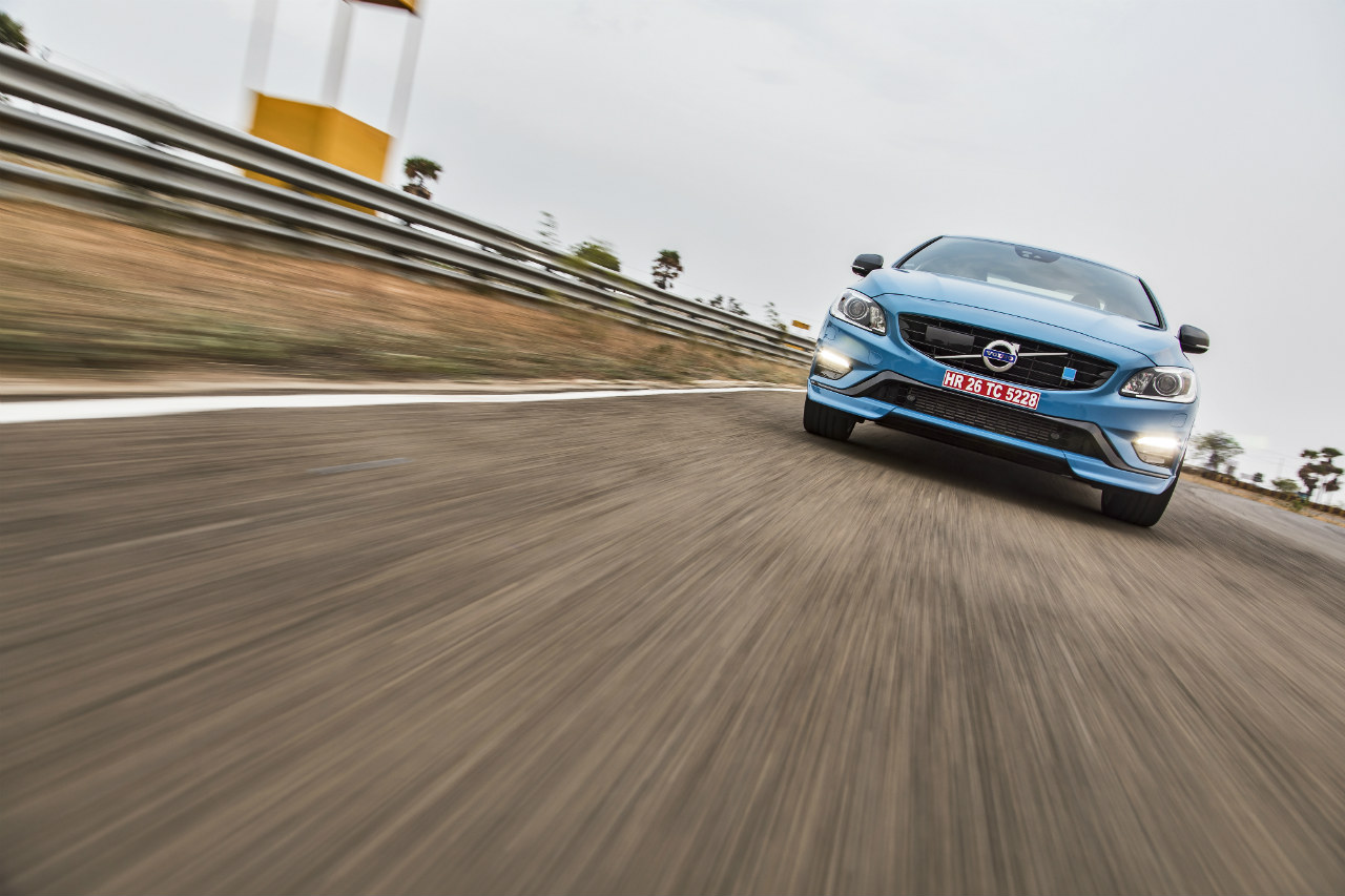 Volvo S60 Polestar India Track