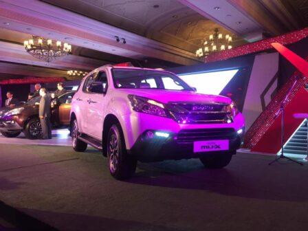 Isuzu MU-X India launched