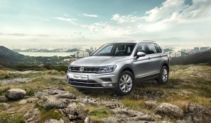 VW Tiguan front launched