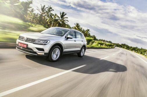 VW TIguan Review Front