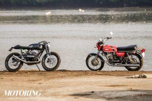 Modified Yamaha RD350 Moto Exotica