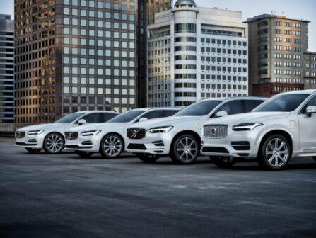 Volvo T8 Electric Hybrid range