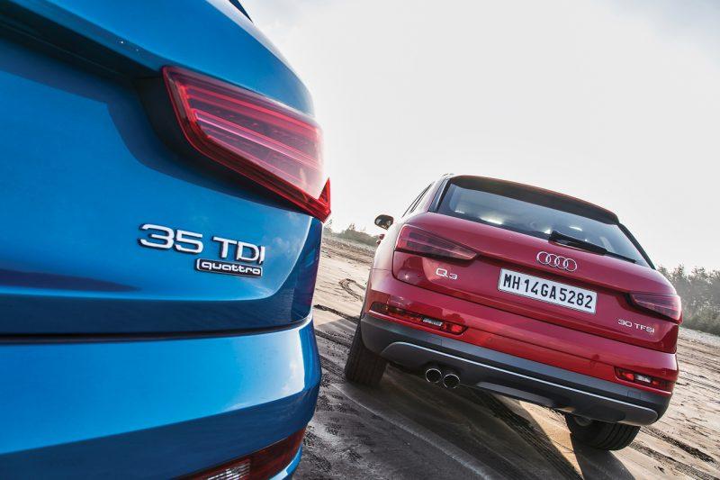 Audi Q3 Review Rear