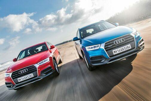 Audi Q3 Review Front