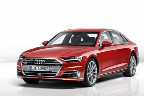 2018 Audi A8 Front