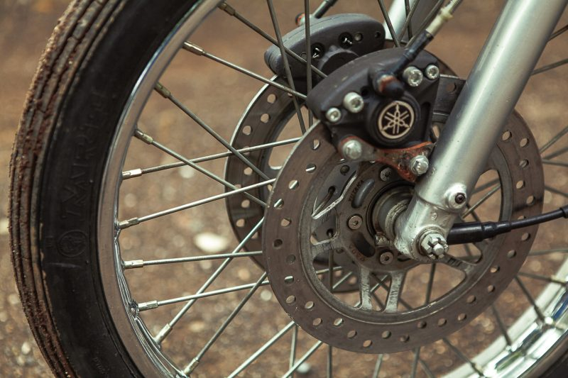 Yamaha RX100 Modified Disc Brake