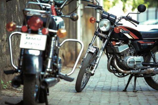 Yamaha RX100 Modified RD350