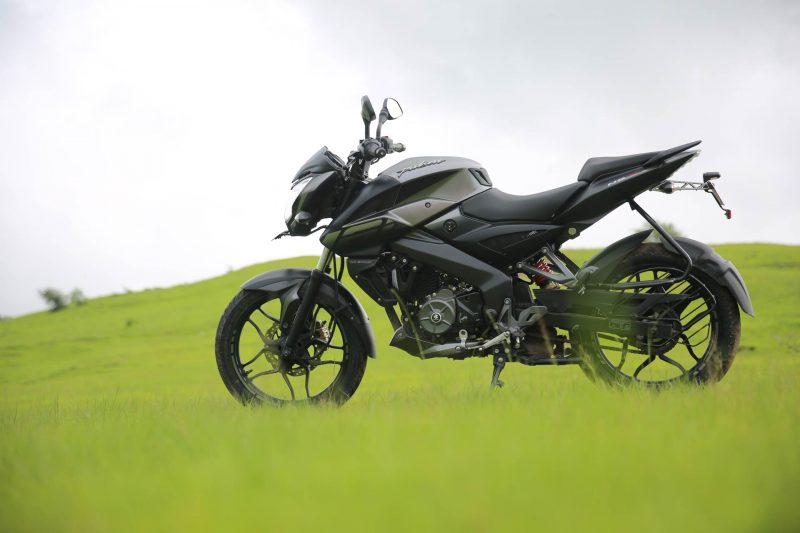 Bajaj Pulsar NS 160 Review Side