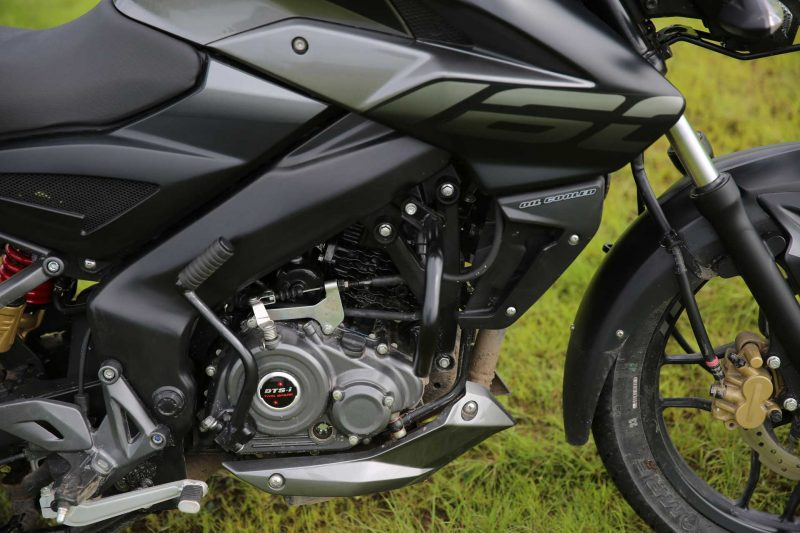 Bajaj Pulsar NS 160 Review Engine
