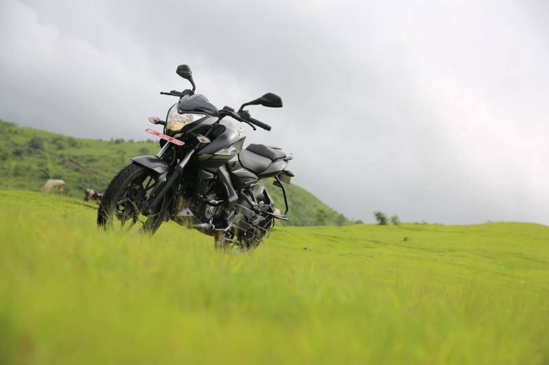 Bajaj Pulsar NS 160 Review Front
