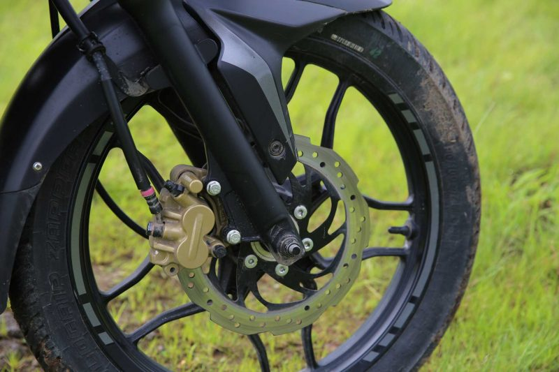 Bajaj Pulsar NS 160 Review Disc