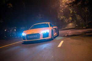 Audi R8 V10 Plus Front