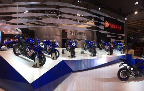 Yamaha at EICMA 2017