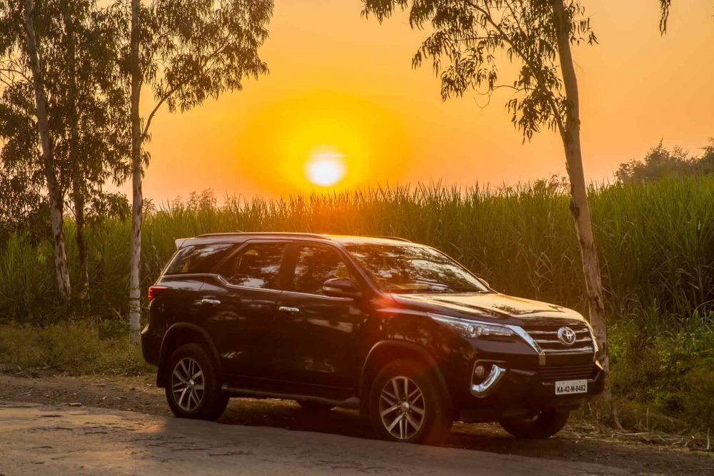 Toyota Fortuner Travelogue