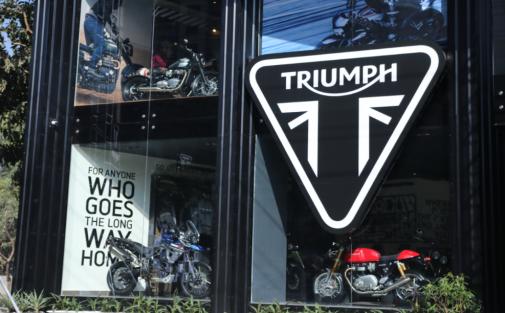 Triumph Gurgaon