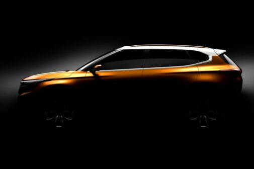 Kia SP Concept Auto Expo 2018