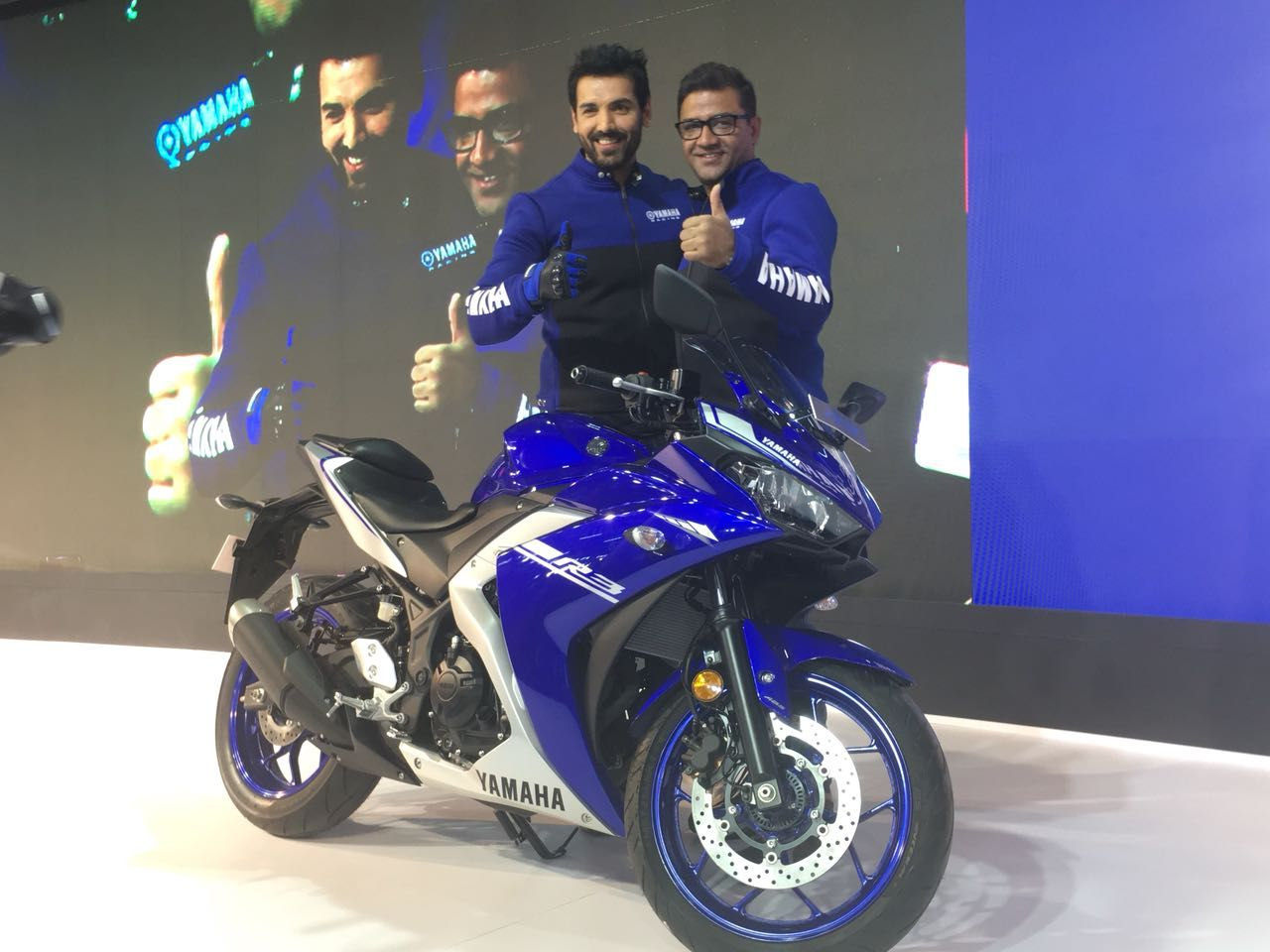 John Abraham's 'Dhoom' act at Auto Expo