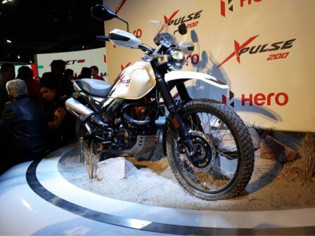 Hero XPulse 200 India Auto Expo