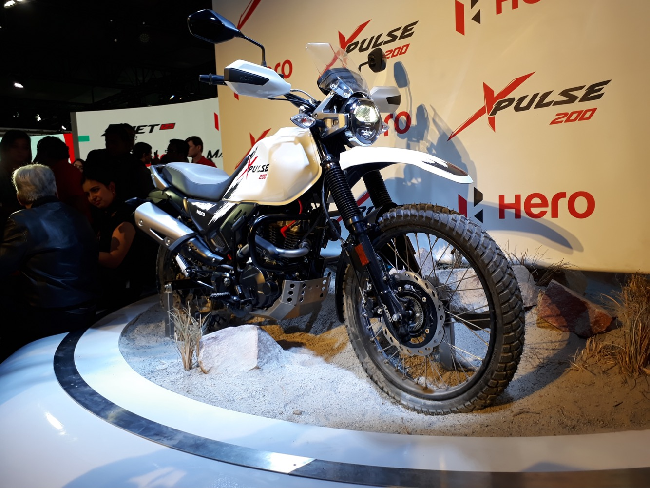 Auto Expo 2018: Hero MotoCorp Unveils 200cc Adventure Motorcycle, 2 Scooters