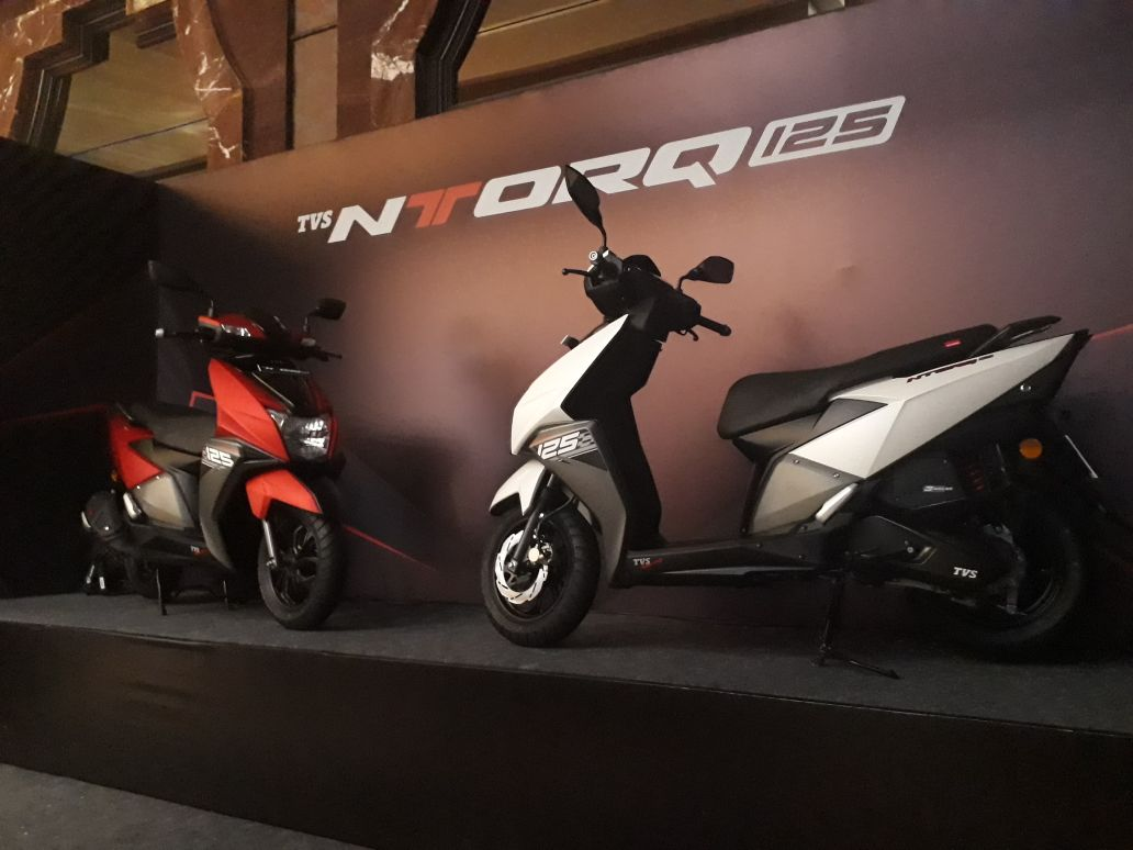 TVS NTORQ 125 launched at Rs 58750