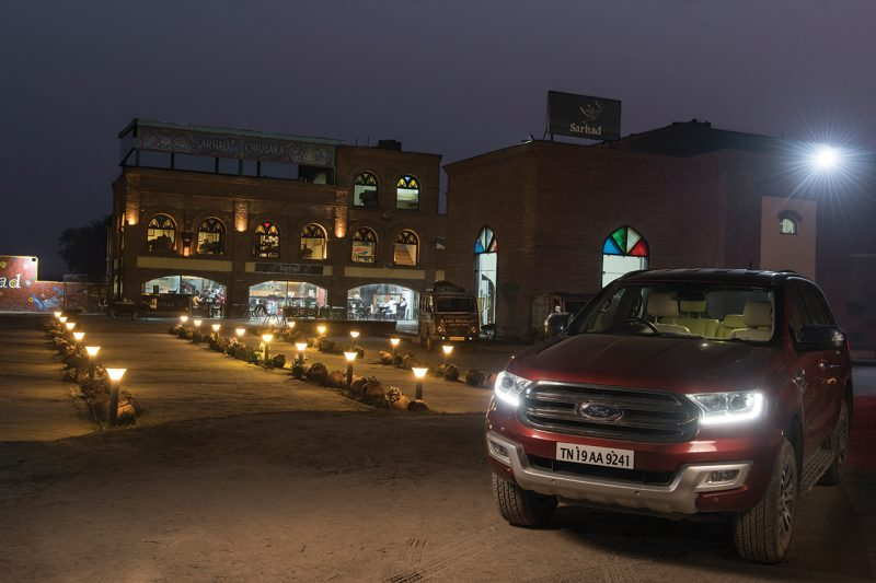 Ford Endeavour Sarhad Cafe