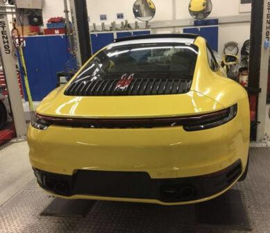 Porsche 911 992 spotted
