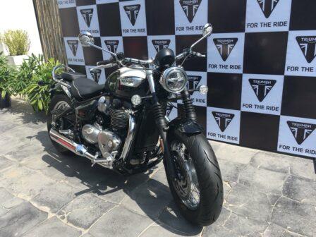 Triumph Bonneville Speedmaster launched