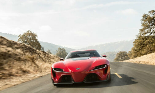 Toyota FT-1 Supra front