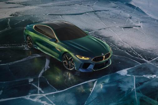 BMW Concept M8 Gran Coupe Geneva