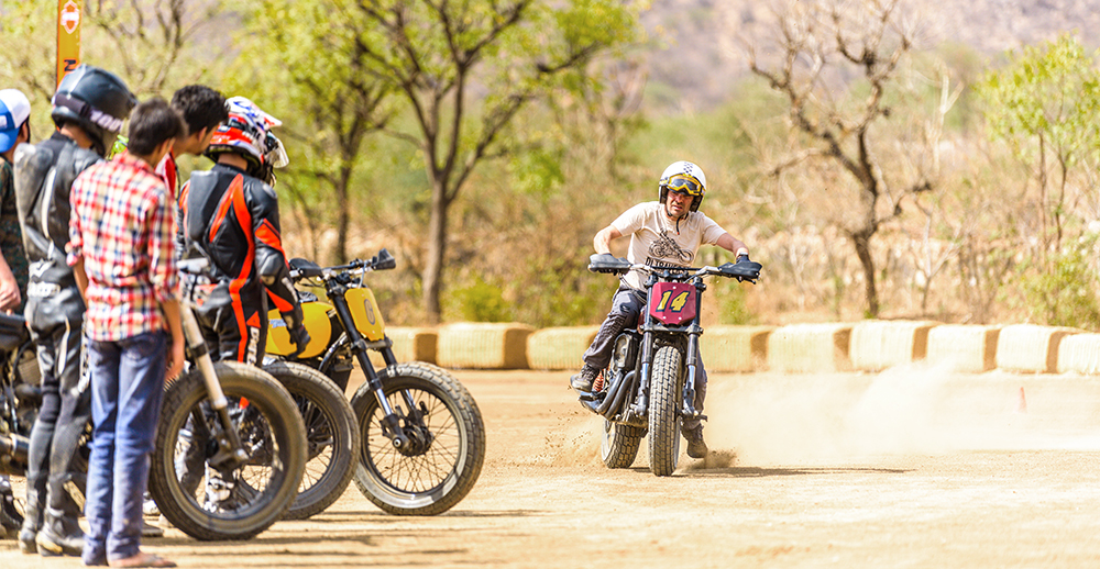 Harley-Davidson Flat Track Racing India