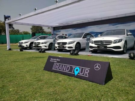 Mercedes-Benz Brand Tour India
