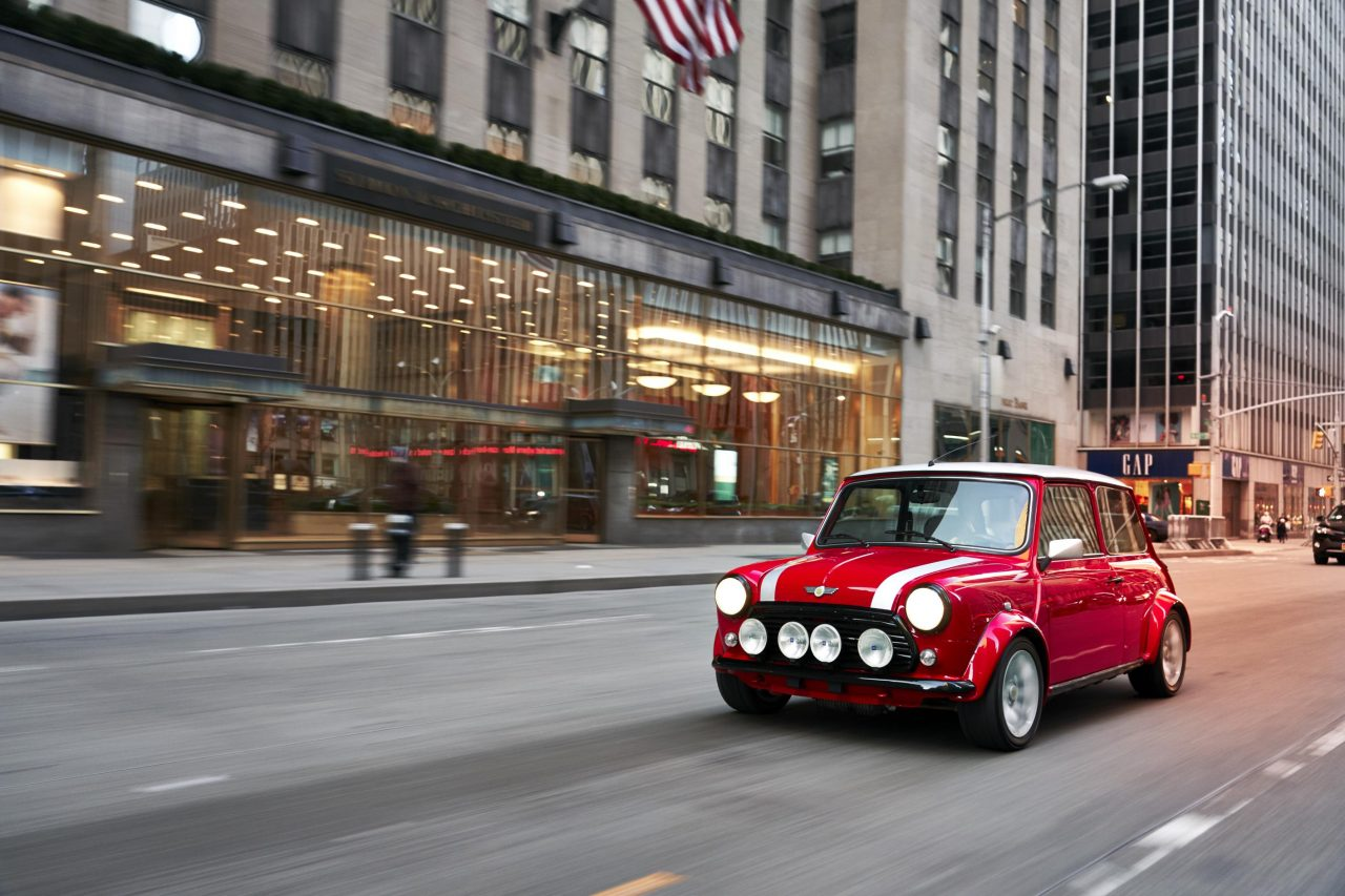 Introducing The Classic Mini Electric: Combining Old With The New