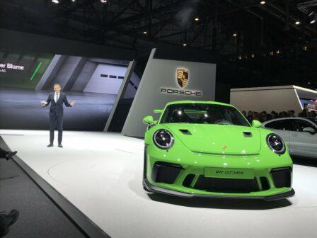 Porsche 911 GT3 RS Geneva