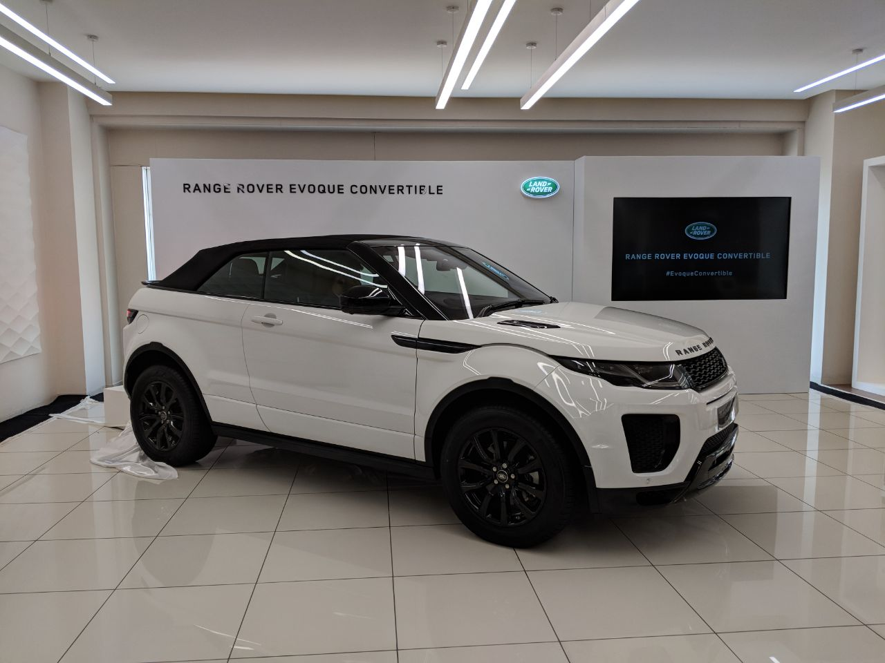 Range Rover Evoque Convertible Launched Motoring World