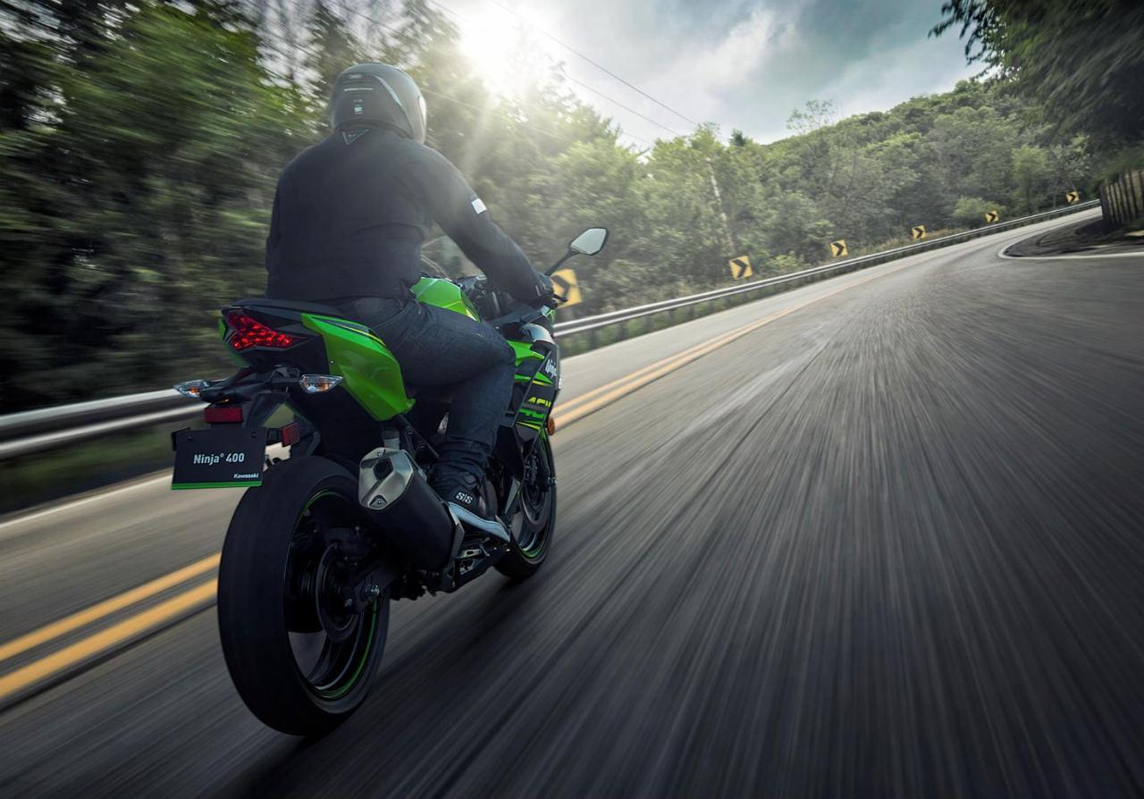 2018 Kawasaki Ninja 400 Rear